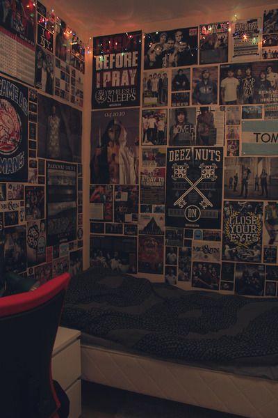 bullshits everywhere  grunge room emo bedroom