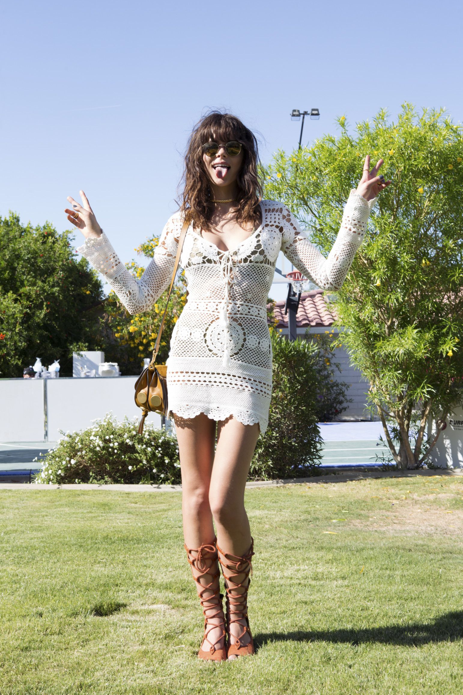 Coachella Street Style 2016: The Best Festival Fashion  - Coachella Street Style-Wmag