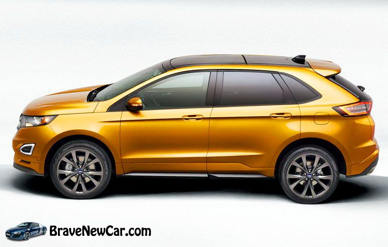 2015 Ford Edge Release Date and Redesign Ford edge, Ford