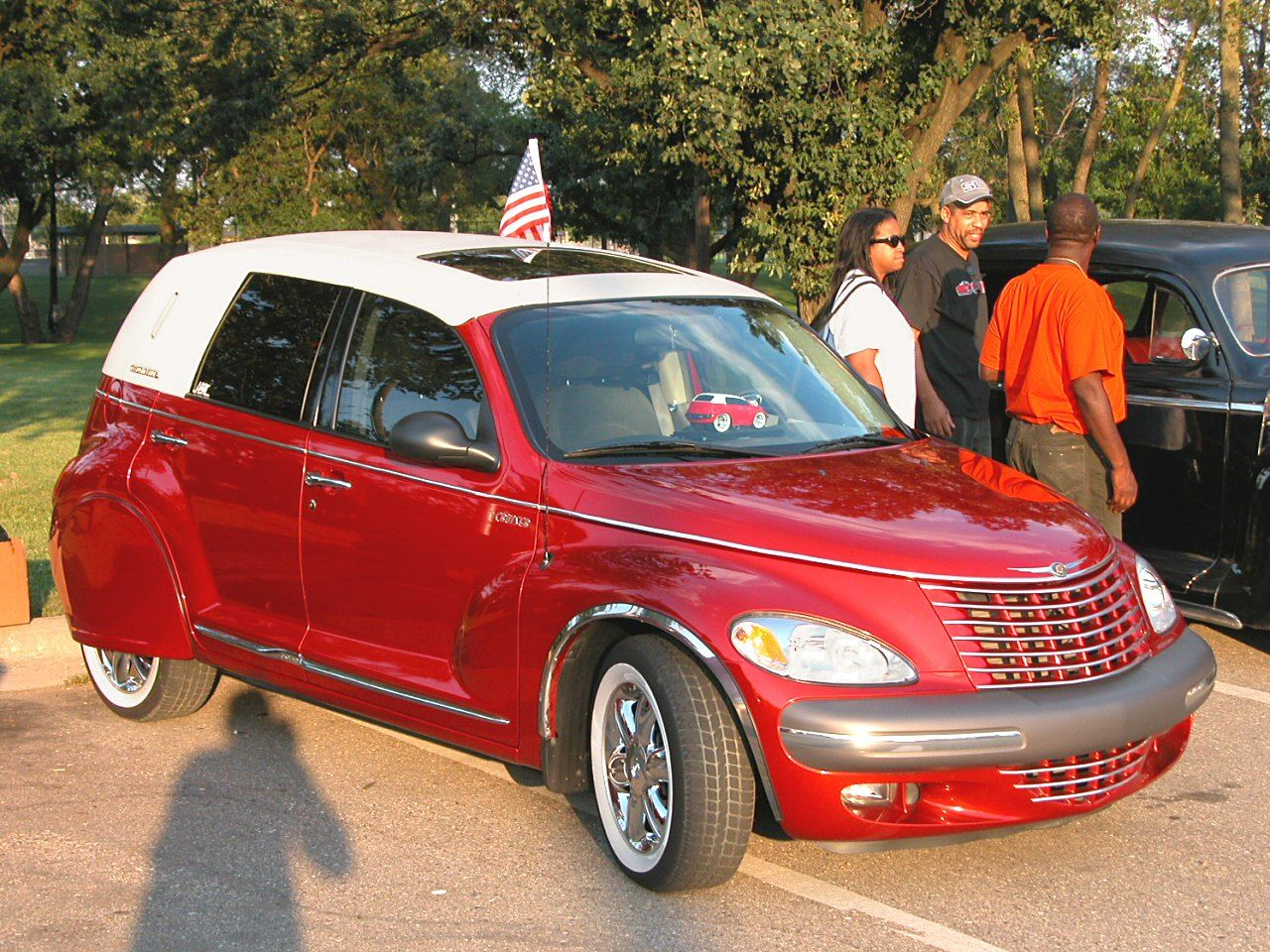 2002 pt cruiser tire size - Custom Car Cars 2002 Chrysler Pt Cruiser Custom Car Convertible Wsw Tires Fender
