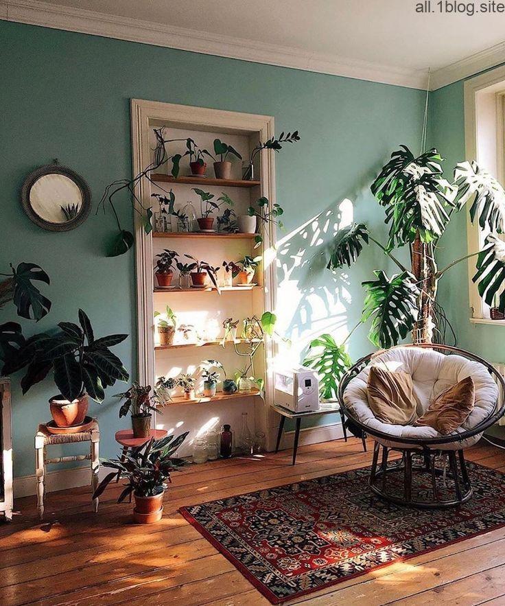 Farbwand für Küche / Wohnzimmer in 2020 | Einrichtungsstil ...