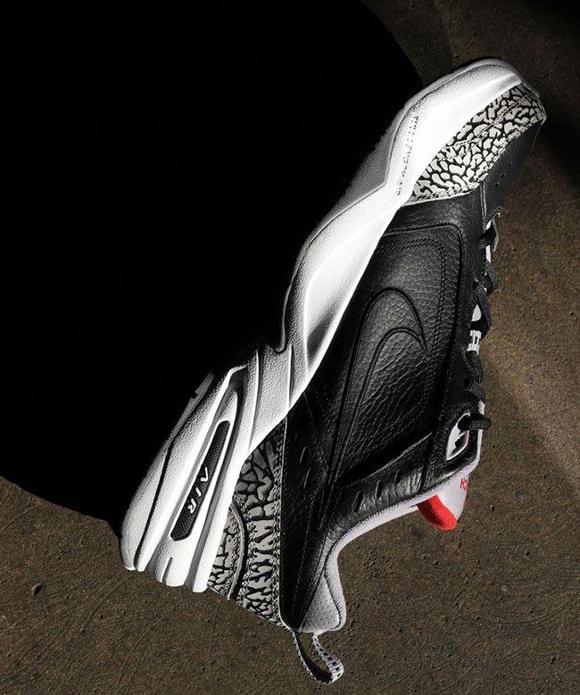 Nike Air Monarch IV 'Black Cement'