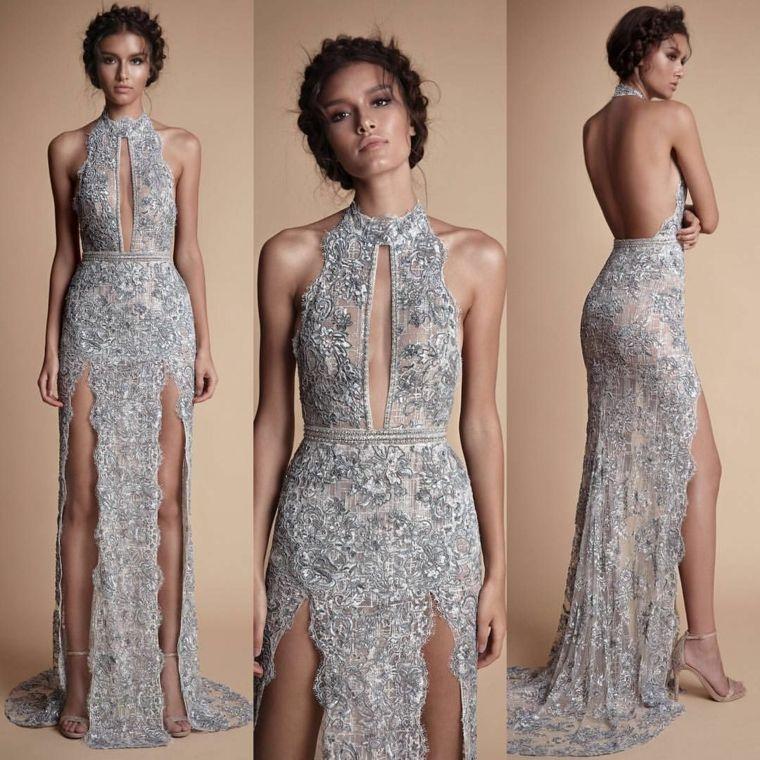 ec07e1f658ecf Tante idee per degli abiti da cerimonia lunghi ed eleganti. Ricca  collezione di immagini con