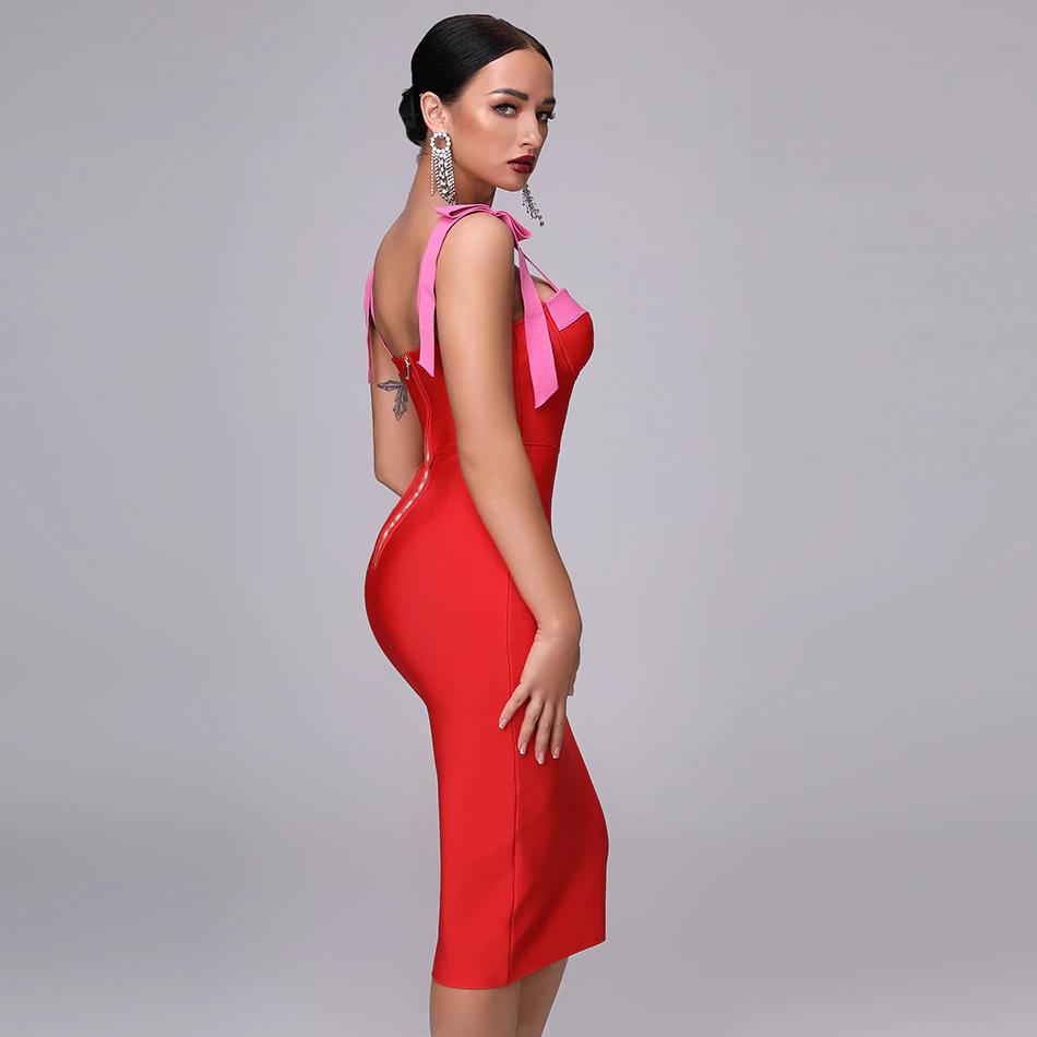 Comprar Adyce 2019 Novo Verão Da Mulher Bandage Vestido De