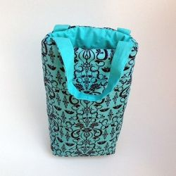 An elegant way to carry a wine bottle. This padded bag will help ensure your…