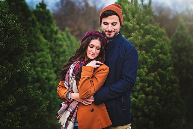 christmas tree farms puppies and happiness jade and tanner rh pinterest com