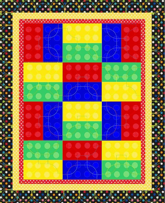 LEGO+Quilt+Pattern | Lego Patterns http://www.colourbox.com/image ...