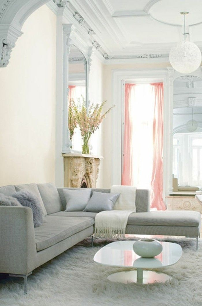 Salon Avec Canapé D Angle déco salon – joli salon avec canapé d'angle pas cher de couleur