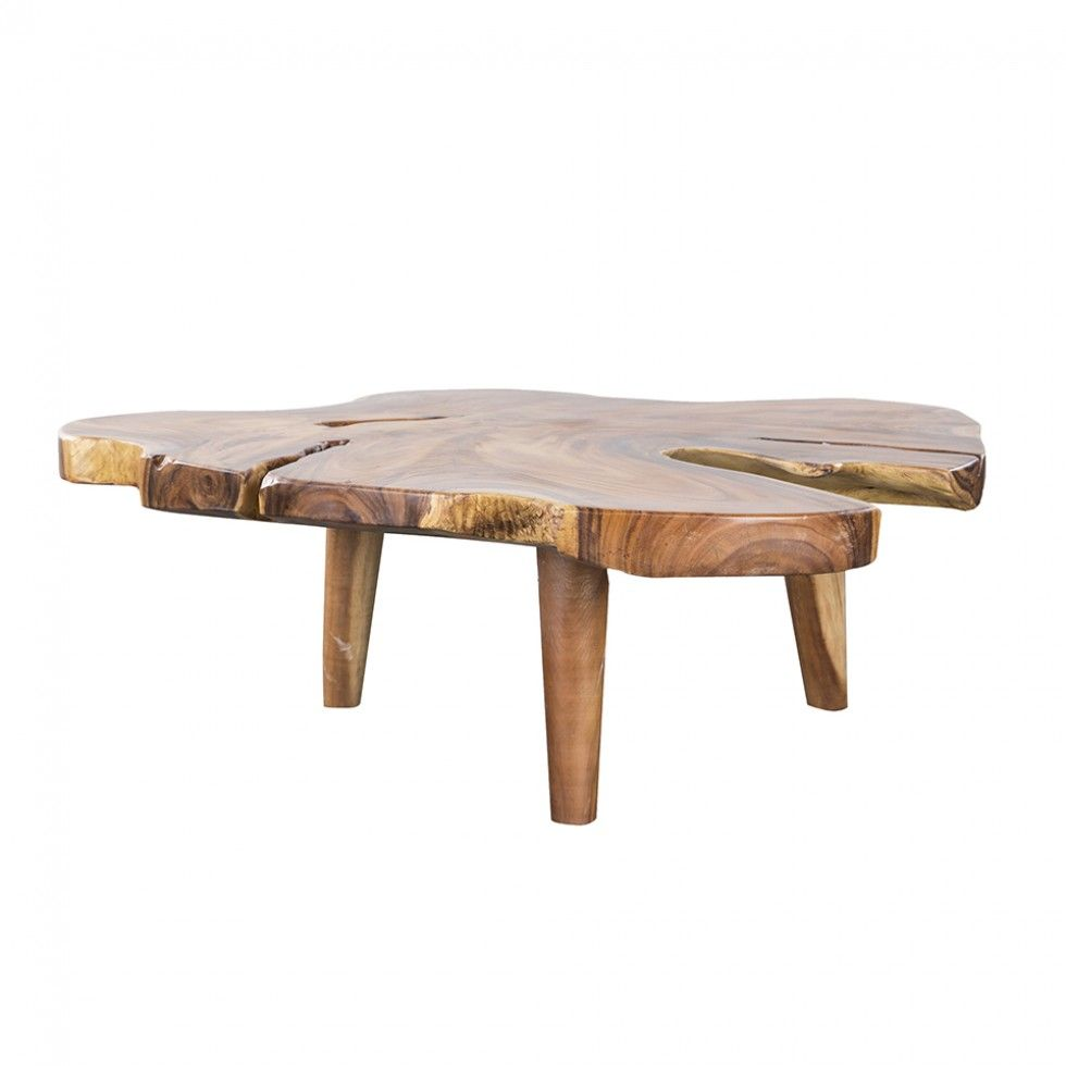 leasing space live edge coffee table natural monkey wood 55 hd