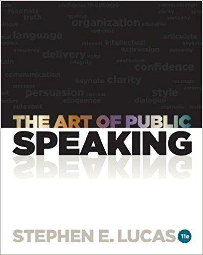 The art of public speaking ebook