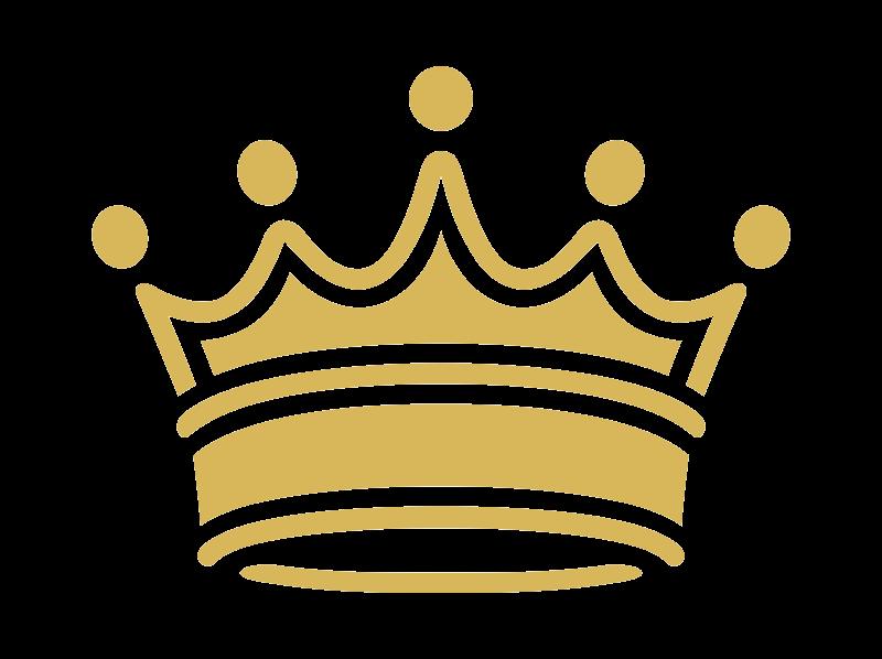 Gold Princess Crown Clipart Transparent Background