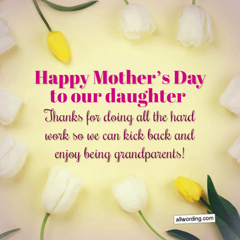 20 Delightful Ways To Say Happy Mother S Day To Your Daughter Mother Day Wishes Happy Mothers Day Daughter Happy Mothers Day Wishes