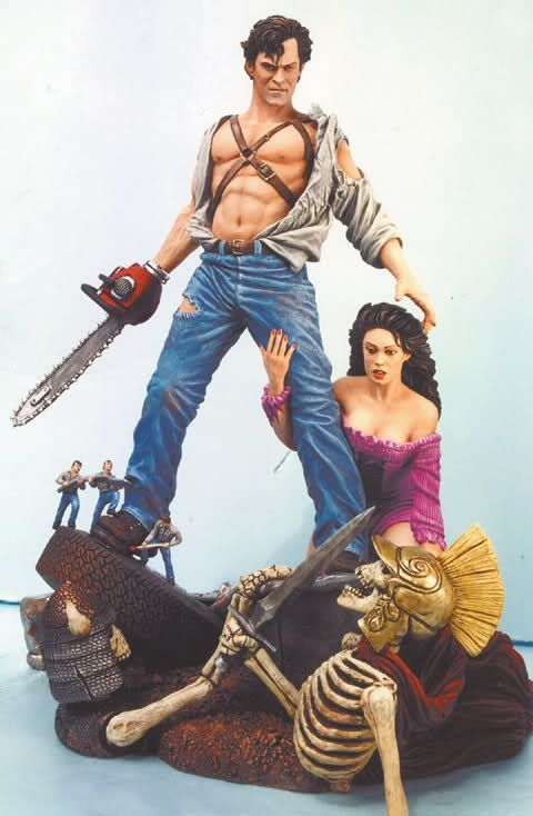 Army Of Darkness Premium Format Ash Statue Forum Action Figures Horror Action Figures Statue