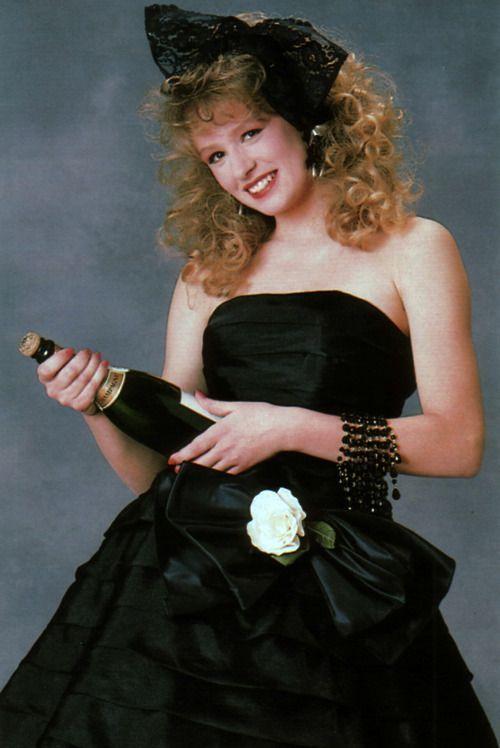 result black 1980's prom
