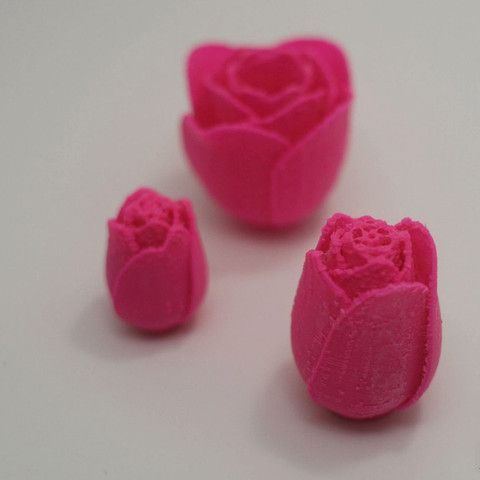 Anniversary Roses #3Dprint #3Dprinting [more pics on Cults website]