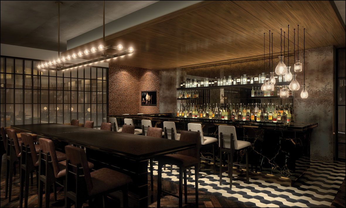 Hilton London Bankside | Bar Lounge Design | Old World Charm | Bespoke  Design | Glamour