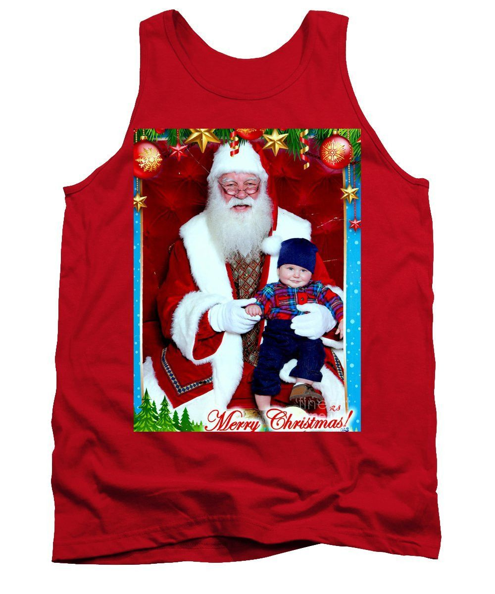 Tank Top - My First Christmas With Santa