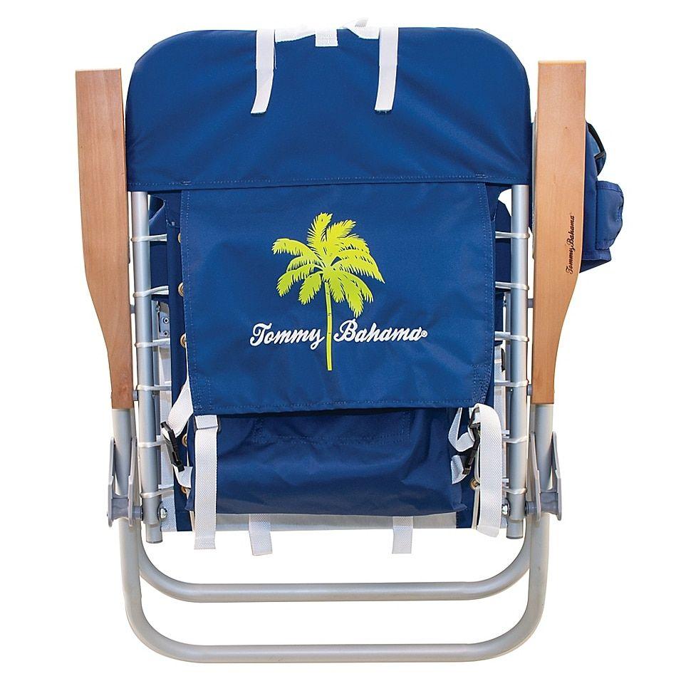 Tommy Bahama 4 Position Backpack Hi Boy Beach Chair In Blue In 2021 Beach Chairs Tommy Bahama Beach Chair Boys Beach