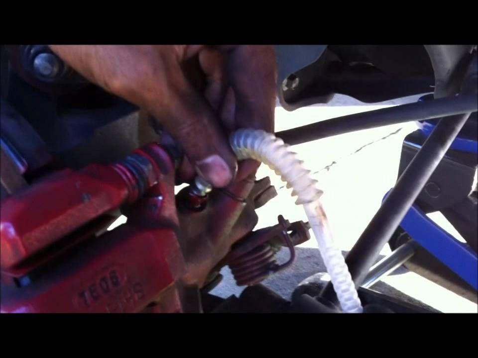 how to change BRAKE FLUID on 2007 HONDA ACCORD V6 http
