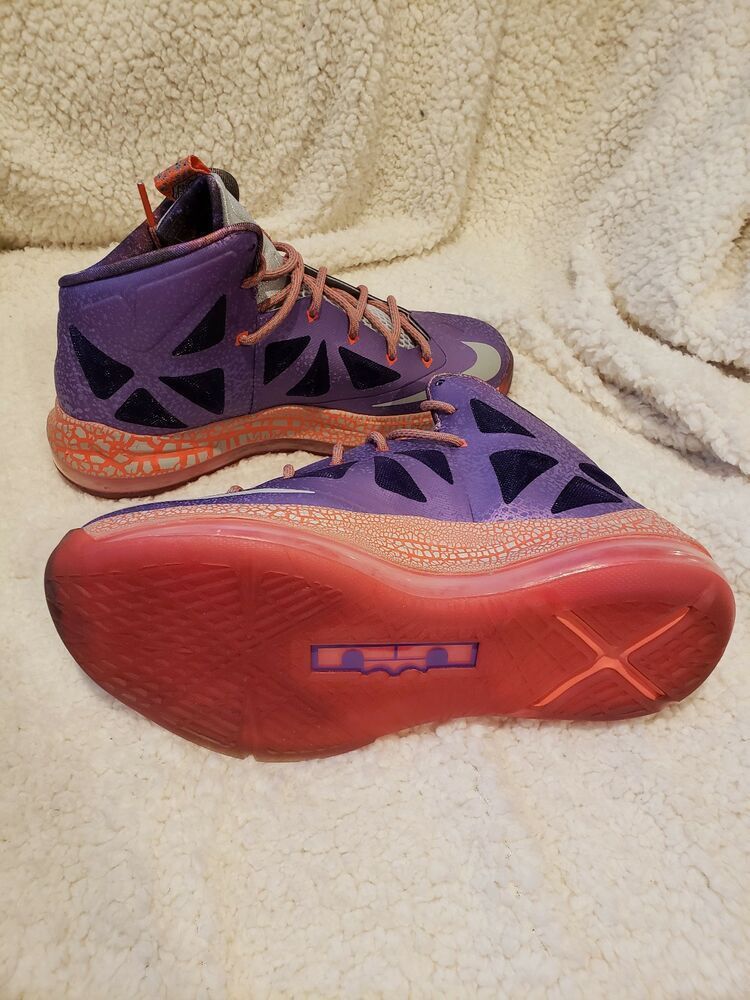 newest collection c5a61 d7414 Nike LeBron X Laser Purple   size 5.5y  fashion  clothing  shoes   accessories  kidsclothingshoesaccs  boysshoes (ebay link)