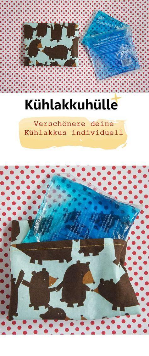 Kühlakkuhülle - Frau Scheiner