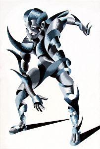 "Mark Webster Artist - Cesar 2203 - 30x20"" Oil on Canvas."