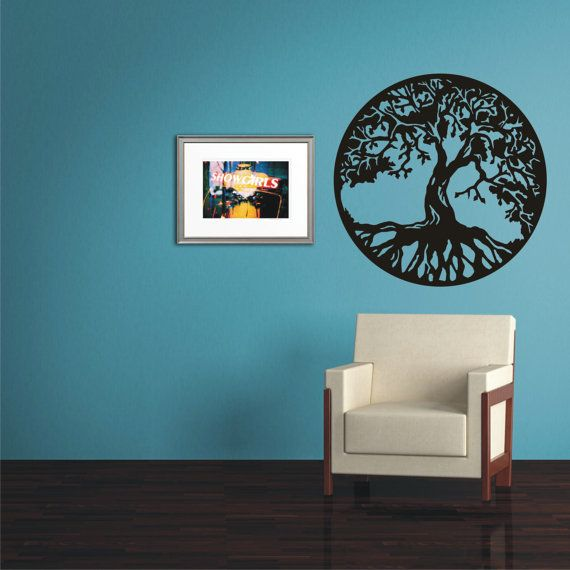 TREE OF LIFE Gift Wall Sticker, Vinyl Decal, Wall Tattoo ...