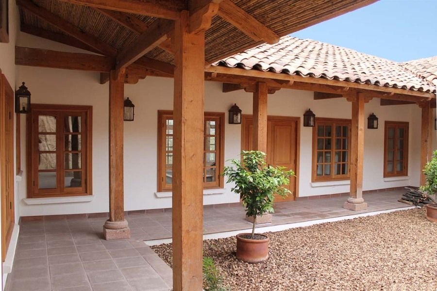 Planos De Casas Con Corredores Internos Yahoo Image Search Results Maisons Coloniales Maison Avec Patio Maison Moderne Plain Pied