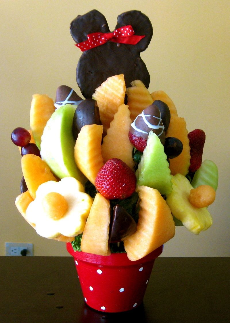 para fiestas infantiles arreglos frutales pinterest