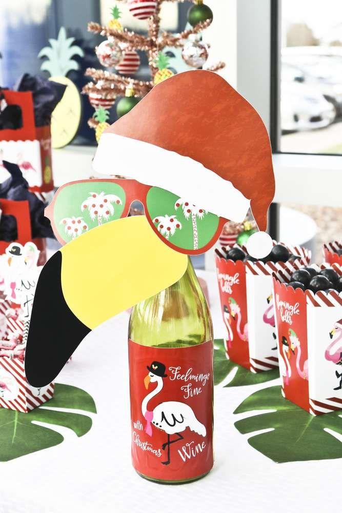 Tropical Christmas Party Ideas Part - 26: Flamingle Bells Tropical Christmas Christmas/Holiday Party Ideas | Tropical  Christmas