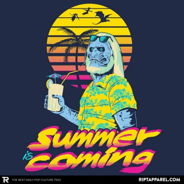 e233e8902a7d Summer is Coming T-Shirt - Game of Thrones T-Shirt is  11 today at Ript!
