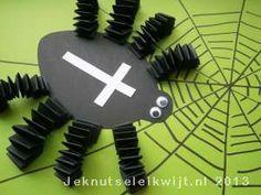 Halloween Spin Knutselen.Spin Knutselen Google Zoeken Herfst Painting For Kids