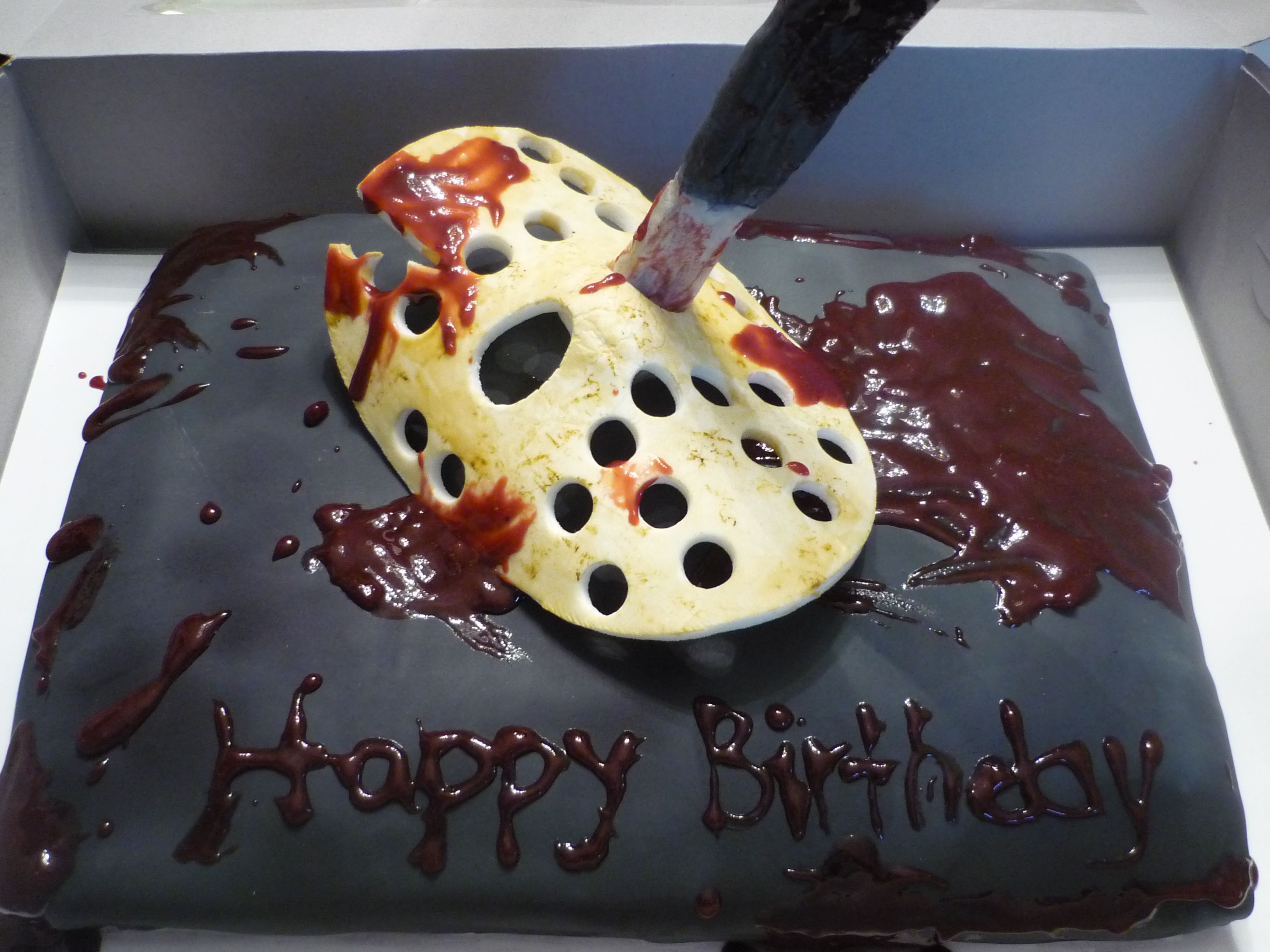 Friday the 13th horror cakes