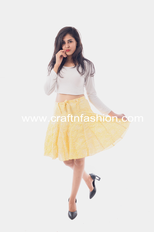 62581c3466ad Girls' Fashion Wear Short Skirt #cottonskirt #shortskirt #miniskirt  #chikankariskirt #summerwear #beachwear #girlsfashion #hakobaskirt  #bollywoodstyle ...