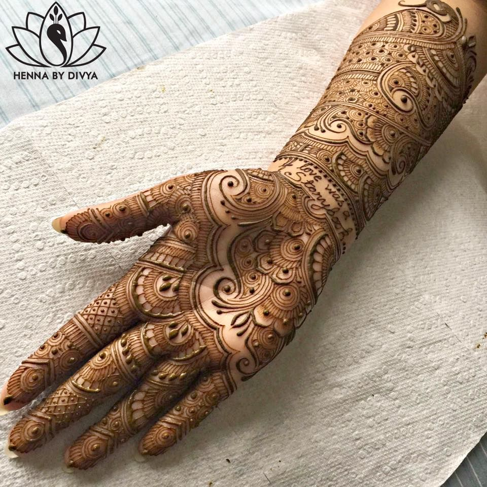 Beautiful And Easy Mehndi Designs For Eid Celebration