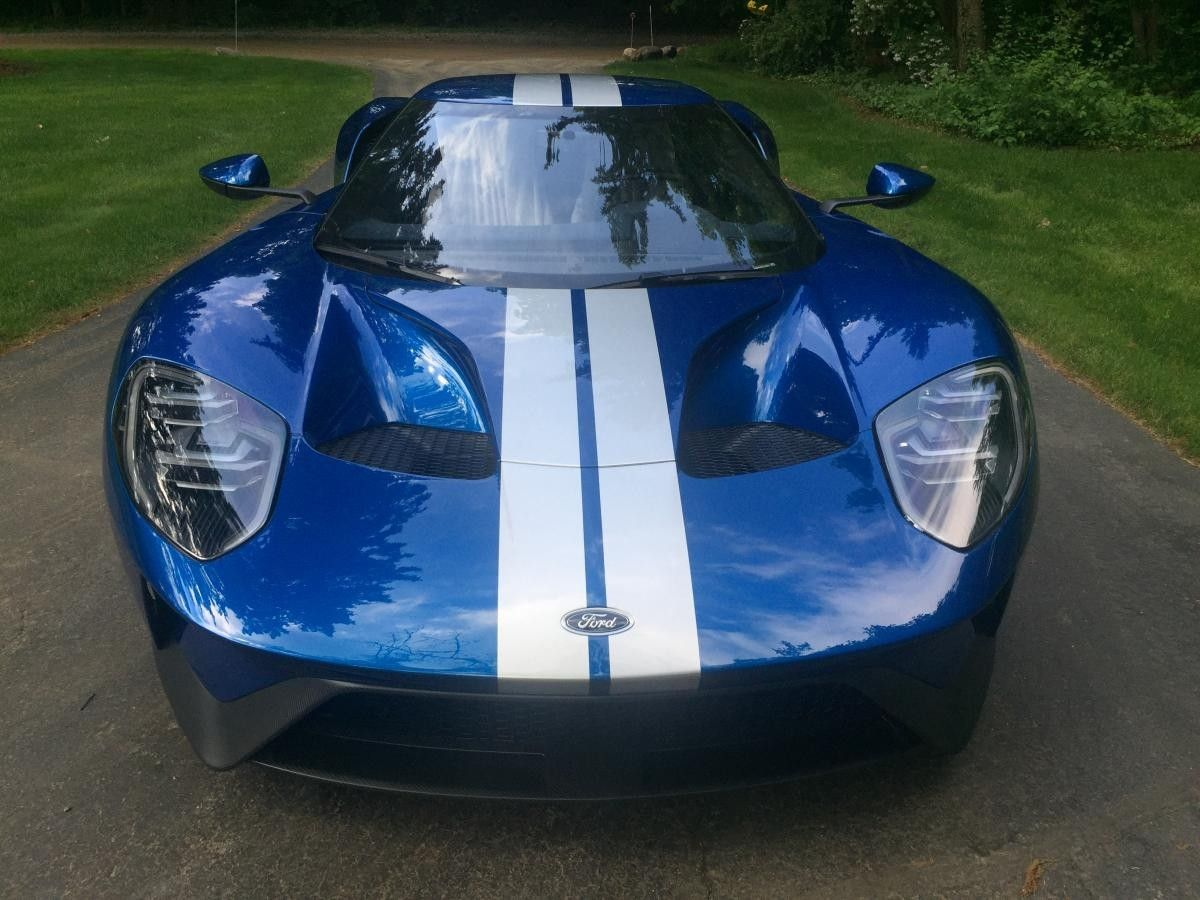 2018 Ford Gt Lightning Blue Ford Gt Ford Mustang Sports Cars