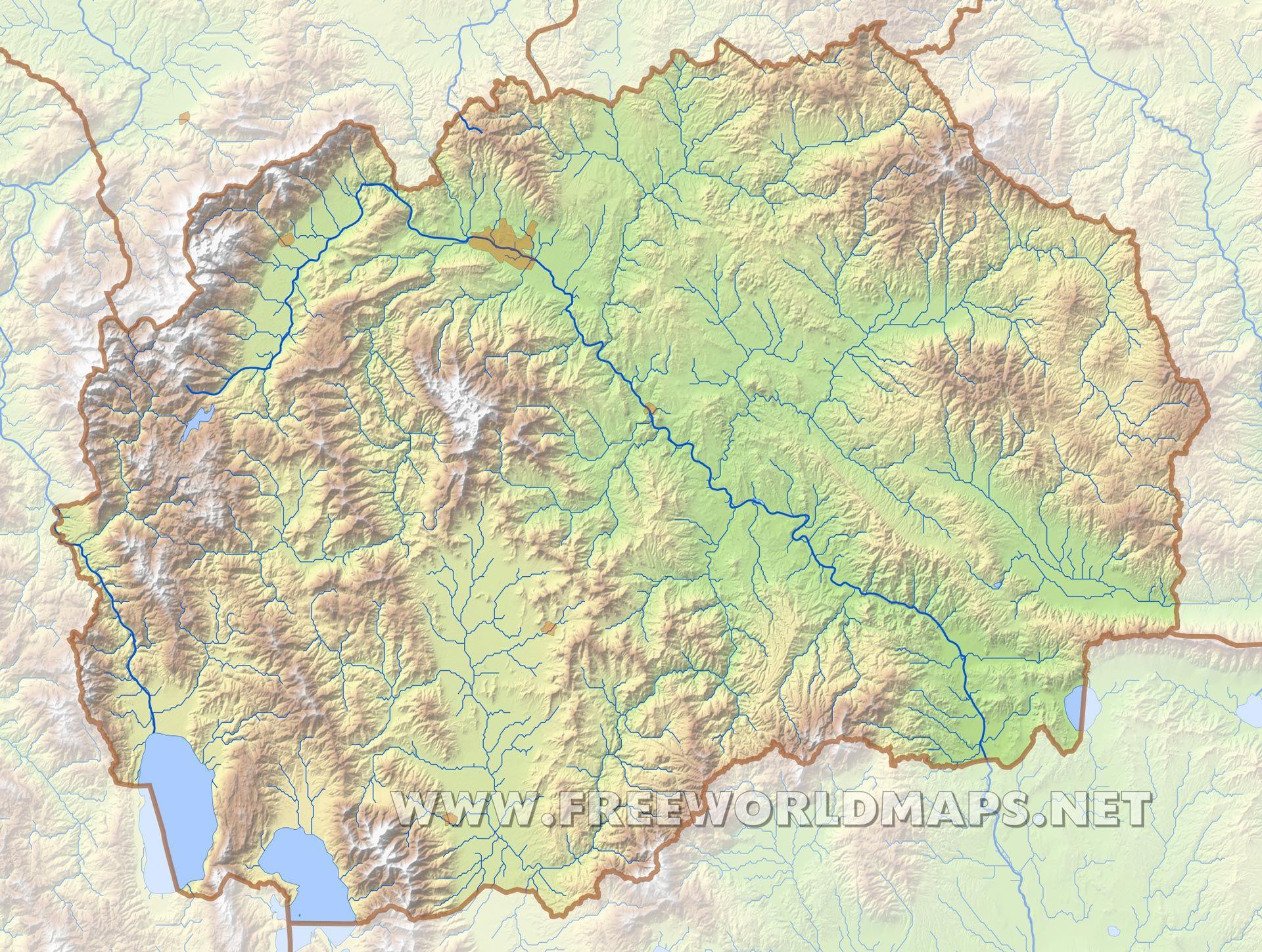 macedonia geography ile ilgili grsel sonucu map Pinterest