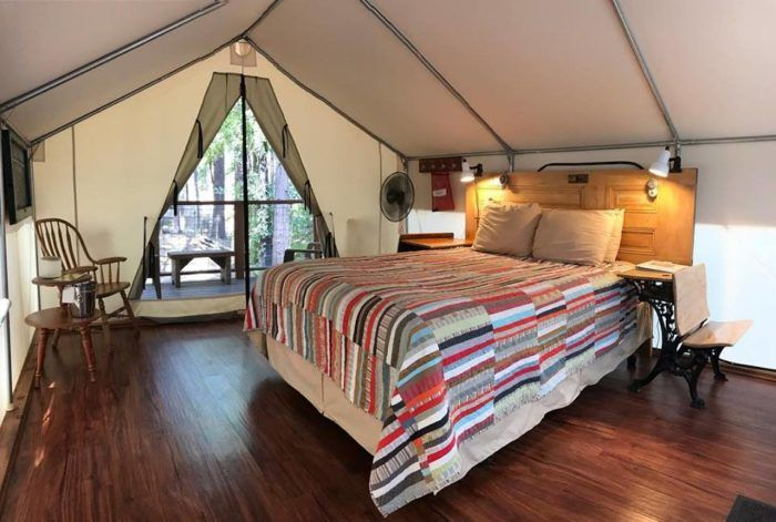 The One-Of-A-Kind Campground In Northern California That ...