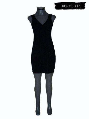 e469a43c17 Elegante Vestido Negro Marca Dynamite -   890.00