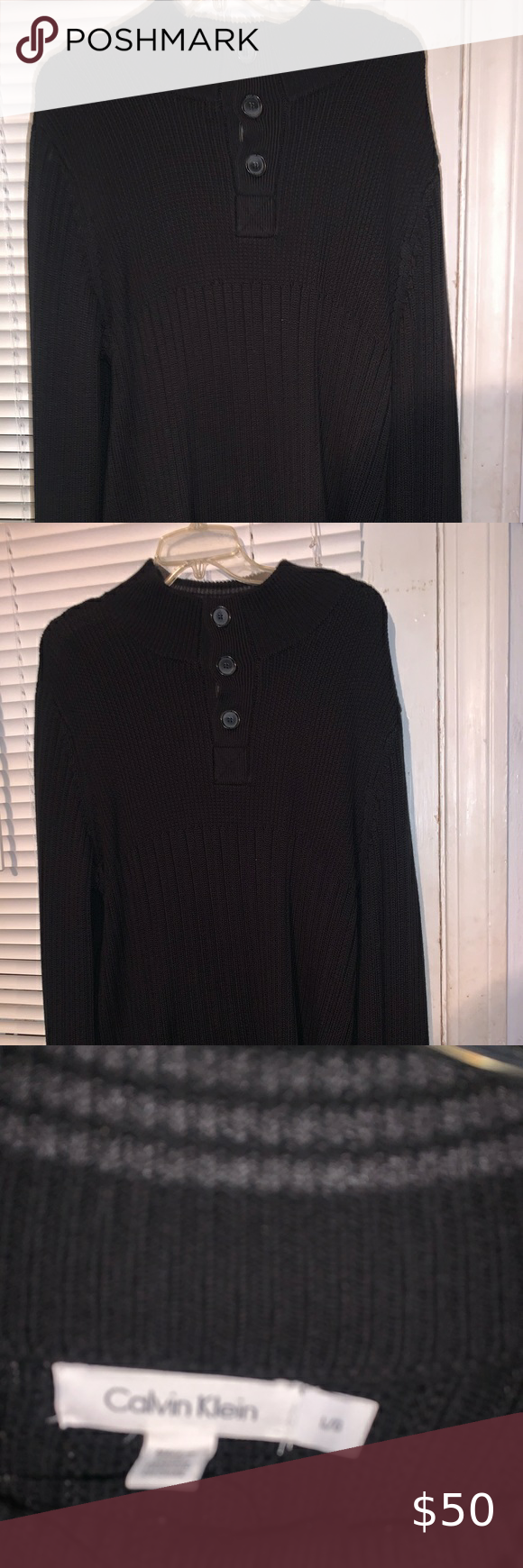 Calvin Klein men's large sweater