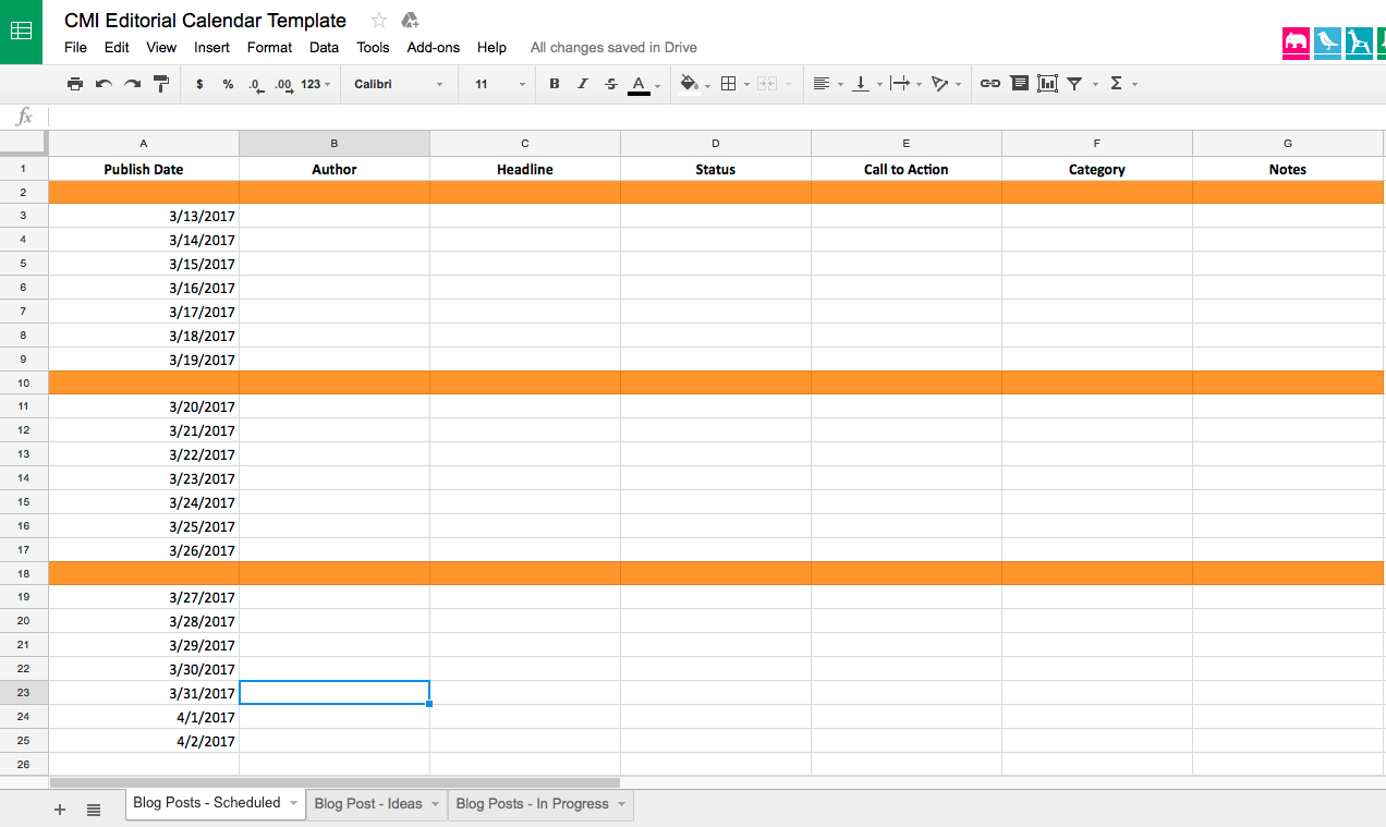 DonT Live Without A Working Editorial Calendar HereS How To