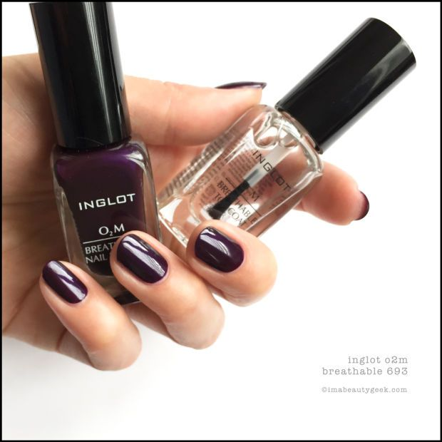 INGLOT O2M BREATHABLE NAIL ENAMEL SWATCHES & REVIEW | Swatch, Nail ...