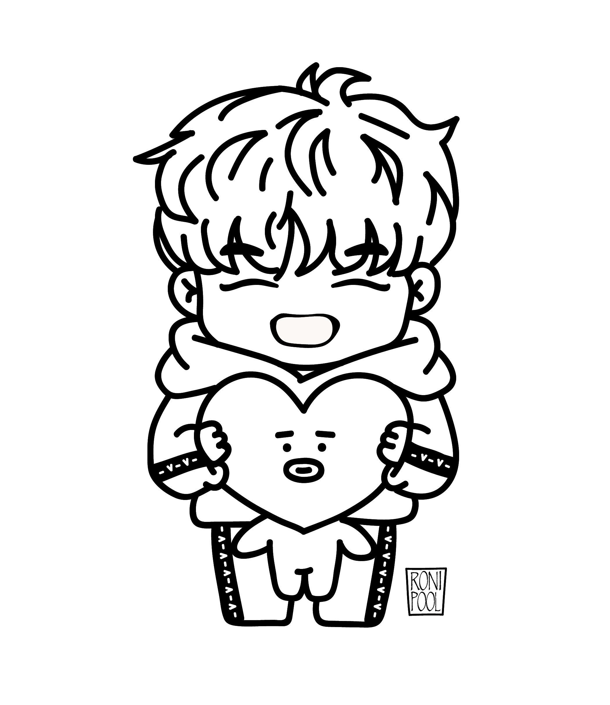 Pin On Bts Drawings