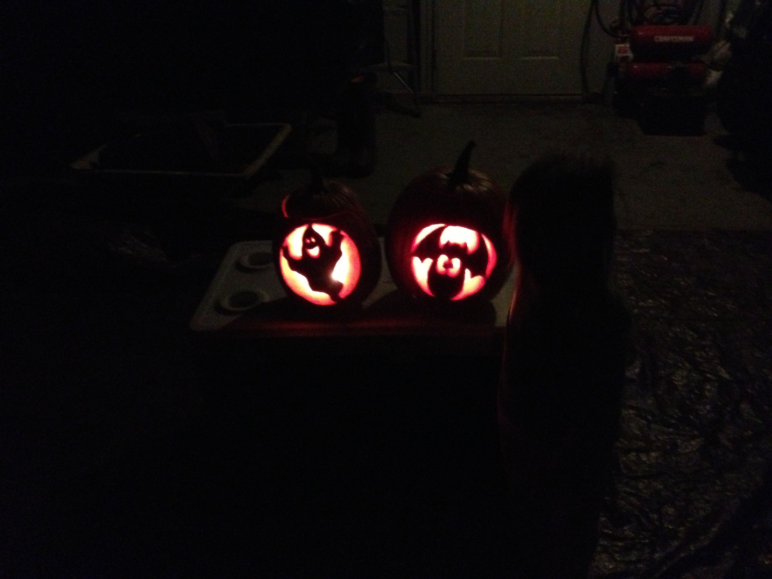 Carving pumpkins WoW I actually did this Pinterest