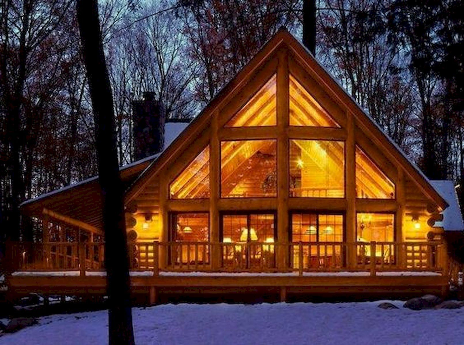 Beautiful Log Cabin Homes Plans One Story Design Ideas 3 In 2020