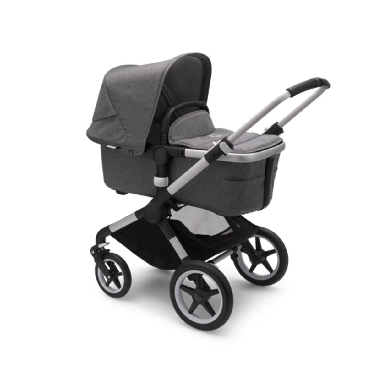 Bugaboo Fox2 Aluminum Frame Stroller Grey Melange in