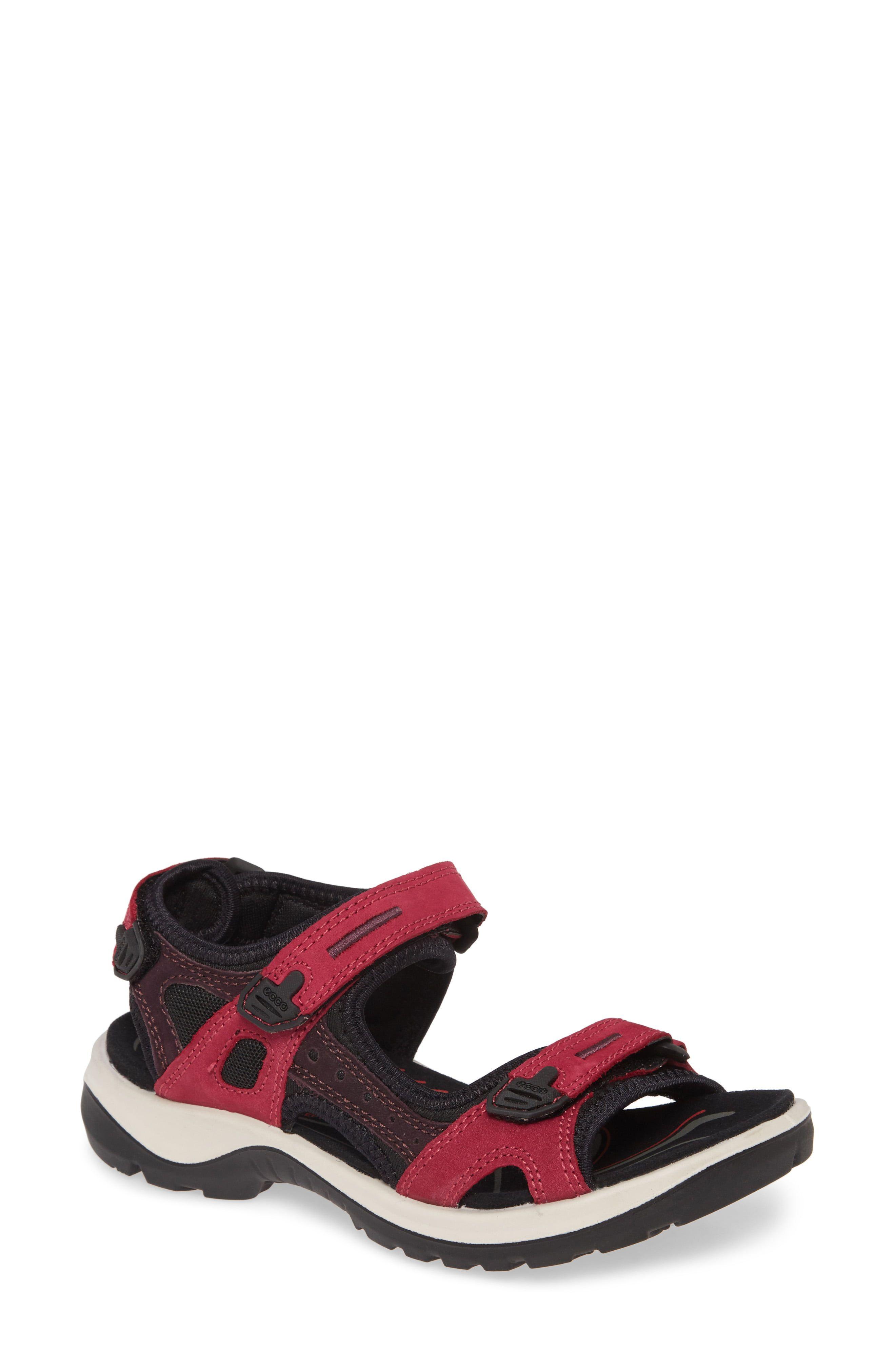 Women's Ecco Yucatan Sandal, Size 8 8.5US 39EU Pink