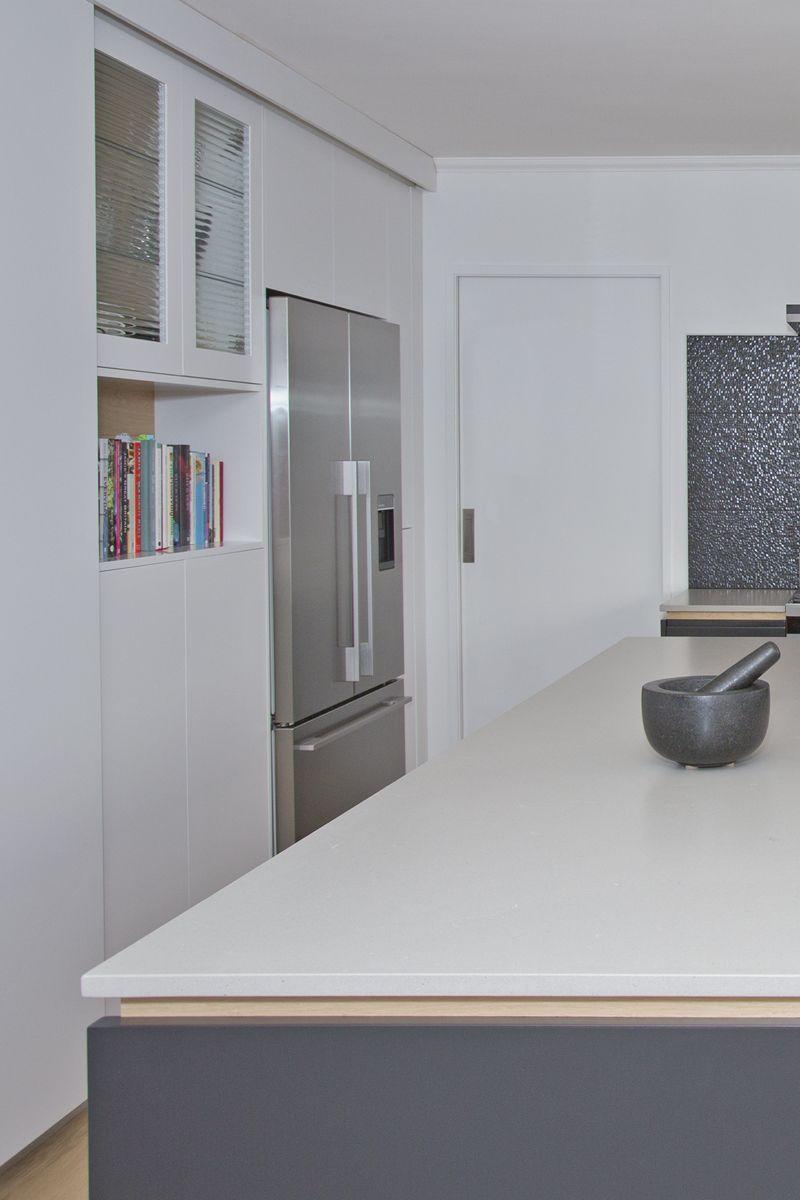 Sally Steer Design Wellington, New Zealand. Caesarstone \