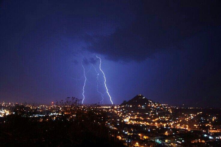 Tormenta eléctrica #Atlixco