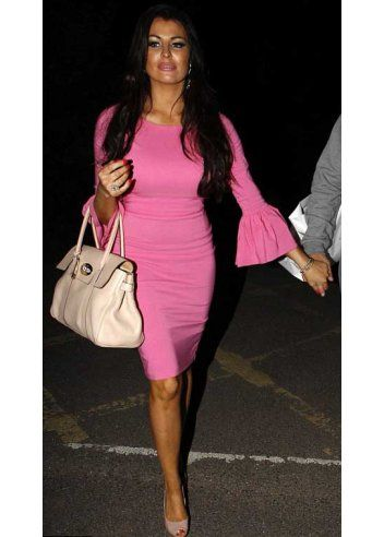 So Couture Pink 60's Pencil Dress As Seen On Jess Wright:  http://www.houseofessex.co.uk/designer-bridal-boutique-c53/mother-of-bride-c57/pink-renee-60-s-couture-dress-as-seen-on-lucy-mecklenburgh-p17670#